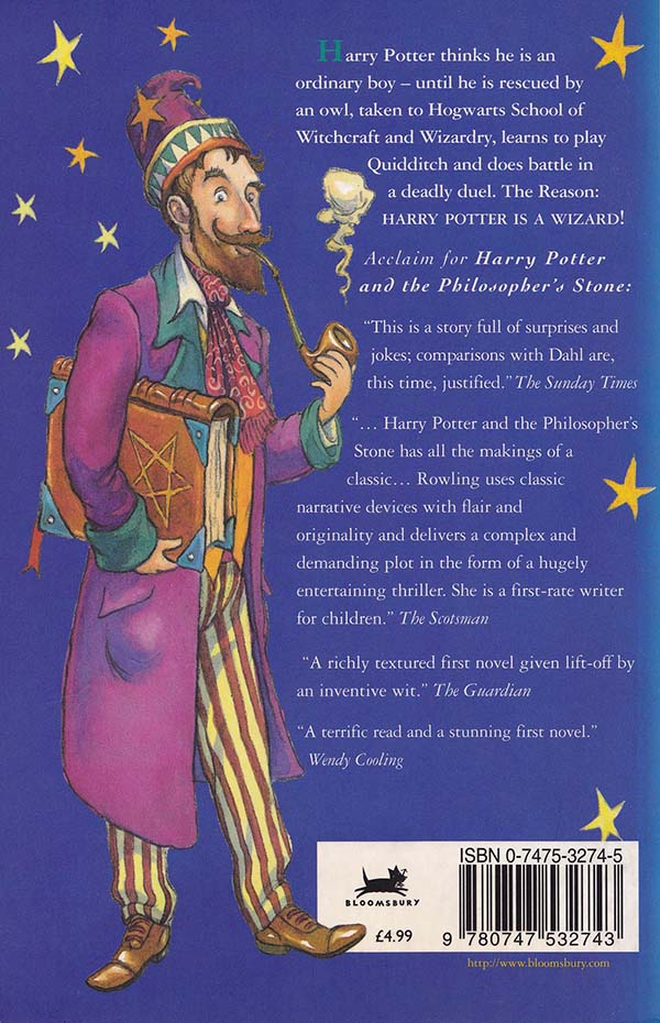 Harry Potter Philosopher S Stone Book Cover : Harry potter and the mysterious wizard thomas taylor